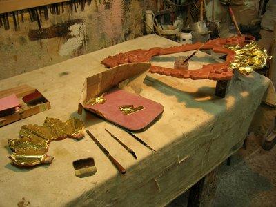 Taller de restauraci n de marcos y muebles en barcelona - Tecnicas de restauracion de muebles ...